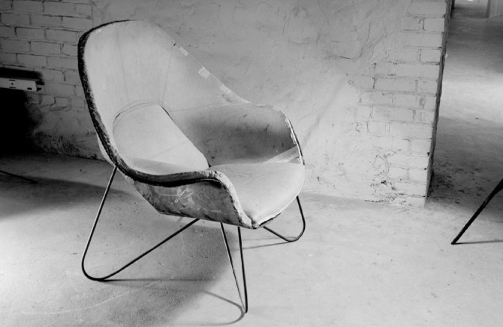 Womb-Chair Entwurf
